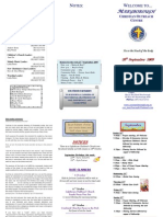 COC Maryborough's Newsletter 20 Sept 2009