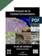 Plan de Manejo - Ciudad Universitaria