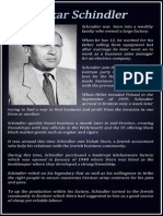 The Career of Oskar Schindler