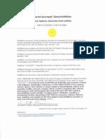 Special Assumpsit, GlaxoSmithKline (ARDO)