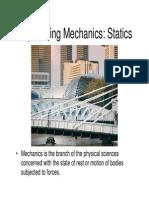 Statics Course Notes