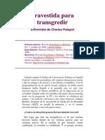 Travestida Para Transgredir