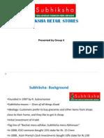 subhiksha- Decision analysis