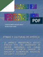 Aportes Culturales Etnias de Amèrica