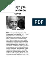 Tamayo y la evolución del color