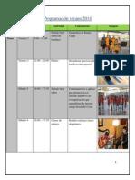 Planificación verano 2013-2014