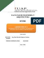 DETERMINACIÓN DE LOS PESOS UNITARIOS SECO SUELTOS Y SECO COMPACTADO DE suelos