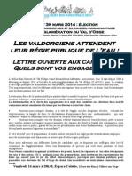ACEVO-Questions Aux Candidats Aux Municipales