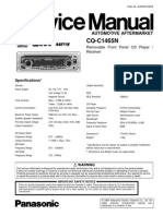 Panasonic Cq c1465n Service Manual