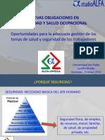 Nuevas Tendencias en Seguridad y Salud Ocupacional_UCSP_mayo2013