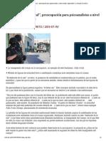 """""""El desborde de lo real"""", preocupación para psicoanalistas a nivel mundial_ especialista _ La Jornada Zacatecas"""