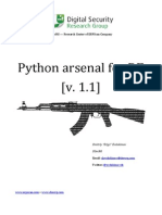 Python Arsenal for RE 1.1