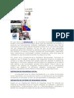 Seguridad Social Concepto e Historia en Venezuela