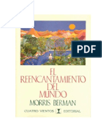 Berman Morris - El Reencantamiento Del Mundo