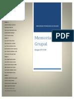 Memoria Grupal