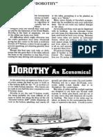 Dorothy 24 Foot Sailing Cruiser