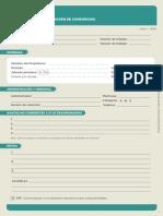 Administracion de Consorcios Form