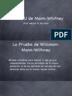 (7) U de Mann-Withney