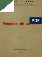Samuel Gajardo Memorias de Un Juez
