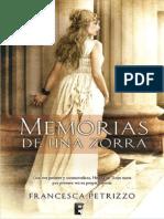 Memorias de Una Zorra - Francesca Petrizzo