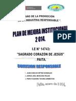 Plan de Mejora Institucional