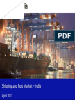 Shippingandportmarketinindia2011 Sample 110419070153 Phpapp02