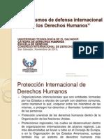 Mecanismos de Defensa Internacional de Ddhh Congreso Logo