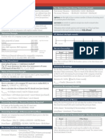EAS 545 Study Sheet