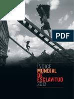 Global Slavery Index 2013 (spanish)