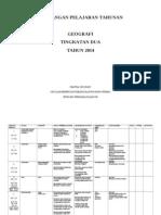 Rancangan Pelajaran Tahunan Geografi t2 Smkppm 2014
