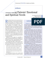 Journal on Spiritual Care