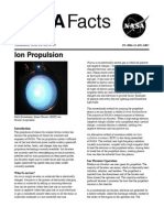 NASA Facts Ion Propulsion