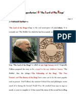 'Tolkienian legendarium' & 'The Lord of the Rings'