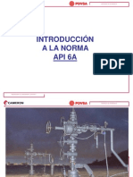Norma API 6A Introduccion
