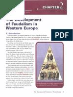 Development of Feudalism in Western Europe