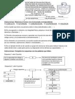 Examen FCEI Tercer Momento 2012 - 2013