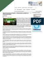 Ojoooo Importante Rescatan Ecosistemas y Producen Alimentos Con Acuaponia