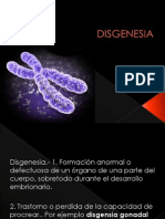 DISGENESIA