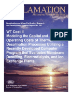 Report130 Modeling Capital and Operating Costs of Thermal Desalination Processes