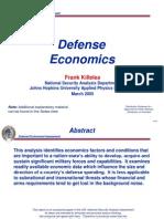 Defence Eco N.ppt Killelea