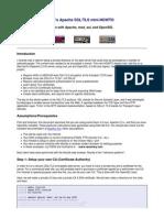 Generating Ssl Certificate