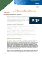 Ar Gartner Magic Quadrant for Enterprise Backup