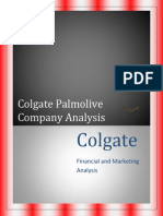 Colgate Company Analysis Report