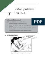 Topic 7 Manipulative Skills I
