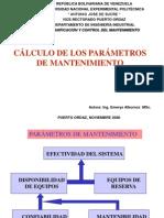 calculo-parametros-mantenimiento.ppt