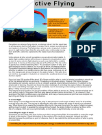 Active Flying in Paragliding