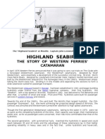 Highland Seabird - The Story of Western Ferries Catamaran