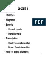 3.Phonemes
