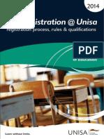 myRegistration-Unisa-2014-CEDU