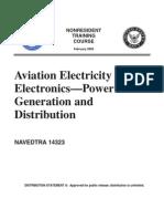 Aviation Power Distribution Generation